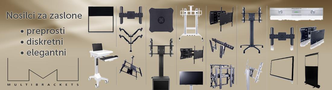 Nosilci za zaslone - Multibrackets